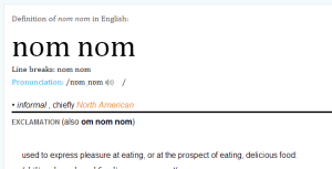 nom nom definition of nom nom in Oxford dictionary (British & World English) - _2014-02-20_20-09-57