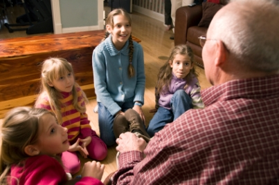 grandfather-and-children-reading-stories8